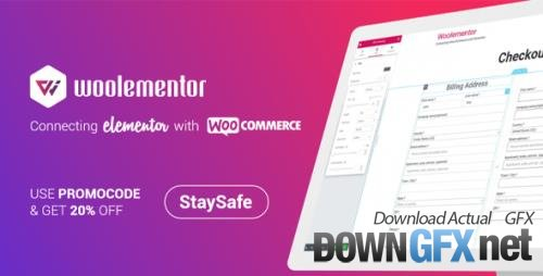 Woolementor Pro v2.6.0 - Connecting Elementor With WooCommerce - NULLED