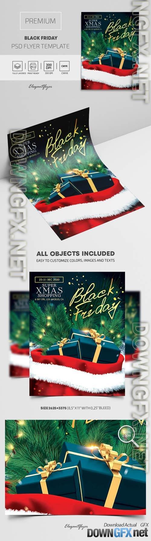 Black Friday Premium PSD Flyer Templatee
