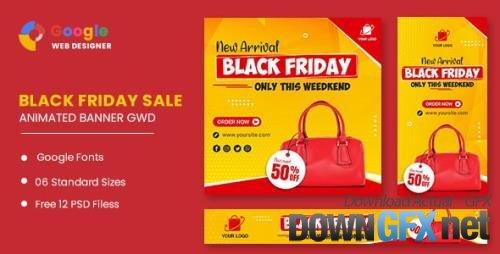 CodeCanyon - Black Friday Sale Bag HTML5 Banner Ads GWD v1.0 - 33905479
