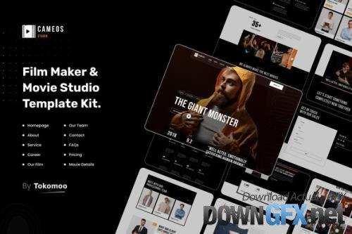 ThemeForest - Cameos v1.0.2 - Film Maker & Movie Studio Elementor Template Kit - 33806438