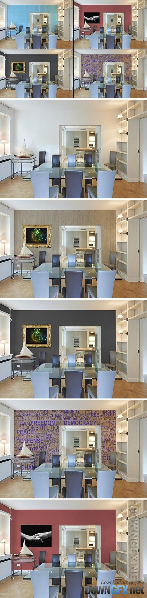 Dining Room_Kitchen_Mockup
