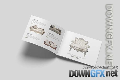 Landscape Brochure and Catalog Mockups