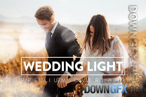 30 Wedding Light Overlays