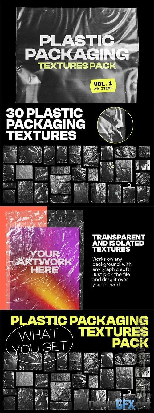 Plastic Packaging Vol 1 - 30 Textures Pack