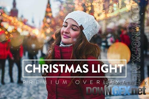 30 Christmas Light Overlay