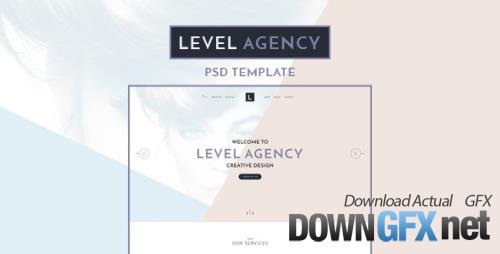 ThemeForest - Level Agency v1.0 - CREATIVE PSD TEMPLATE - 15981832