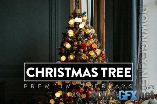 24 Christmas Tree Light Overlay