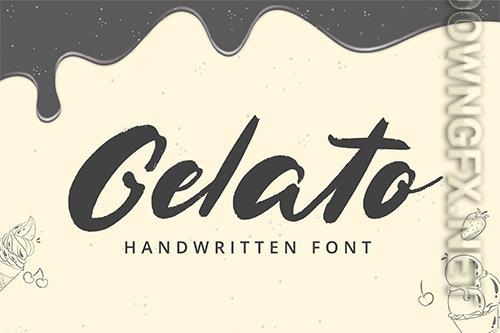 Gelato Handwritten Font