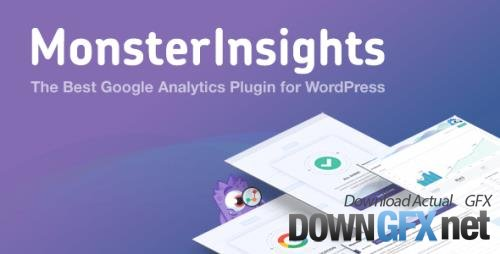 MonsterInsights Pro v8.1.0 - The Best Google Analytics Plugin for WordPress - NULLED + Add-Ons