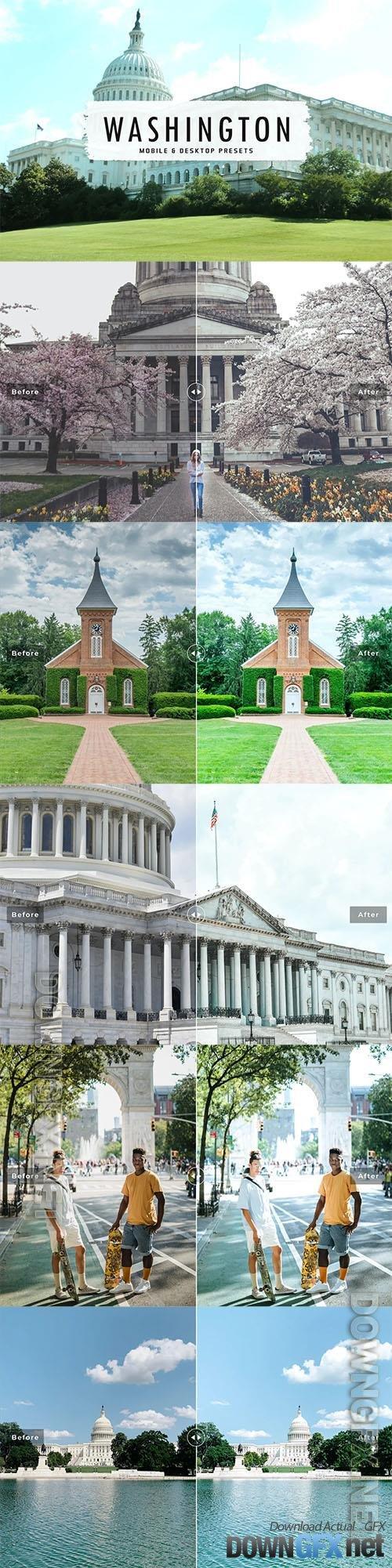 Washington Mobile & Desktop Lightroom Presets