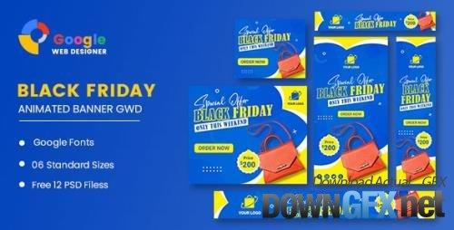 CodeCanyon - Sale Bag Woman Banner HTML5 Banner Ads GWD v1.0 - 33969219