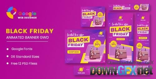 CodeCanyon - Black Friday Sale Product HTML5 Banner Ads GWD v1.0 - 33969156
