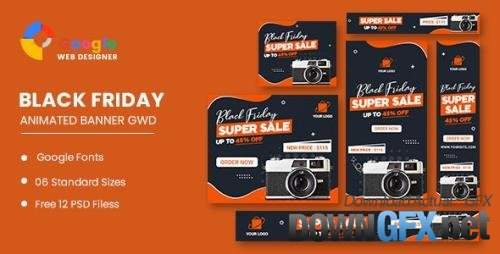 CodeCanyon - Product Sale Black Friday HTML5 Banner Ads GWD v1.0 - 34150886