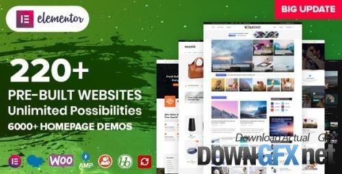 ThemeForest - Soledad v8.0.1 - Multi-Concept Blog Magazine AMP WordPress Theme - 12945398 - NULLED