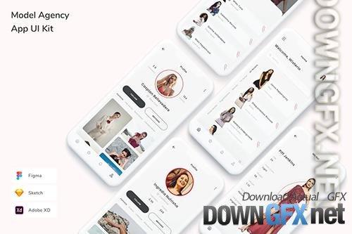 Model Agency App UI Kit