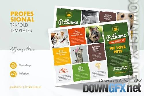 Pet Shop Tri-Fold Templates