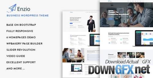 ThemeForest - Enzio v1.0.6 - Responsive Business WordPress Theme - 22272603