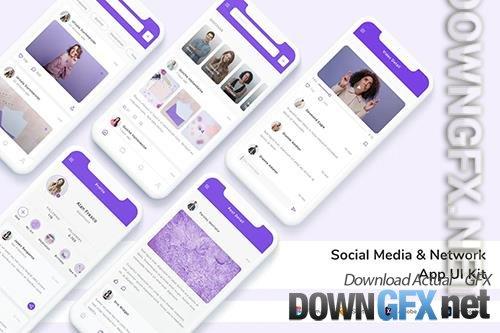 Social Media & Network App UI Kit