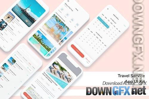 Travel Service App UI Kit