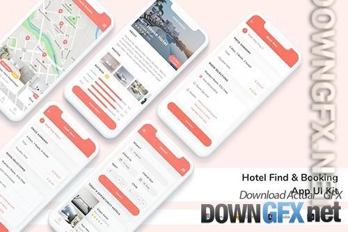 Hotel Find & Booking App UI Kit