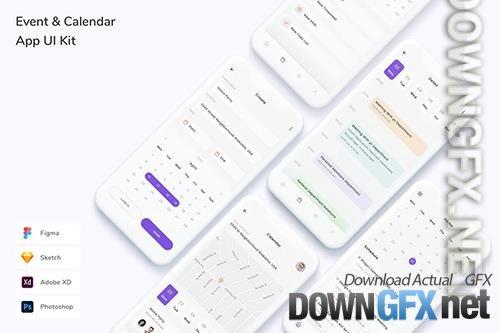 Event & Calendar App UI Kit