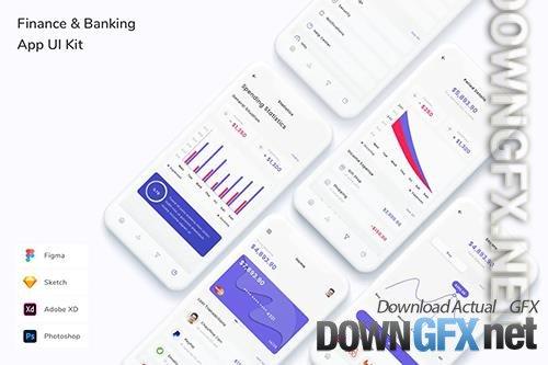 Finance & Banking App UI Kit