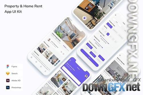 Property & Home Rent App UI Kit