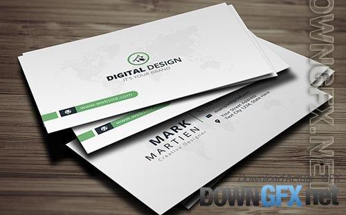Mark Martien Corporate Business Card Vol_ 120 Corporate Identity
