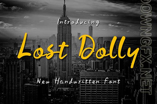 Lost Dolly Font