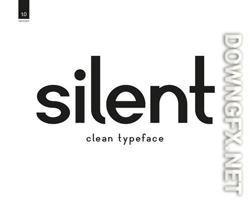Silent Sans Serif Font