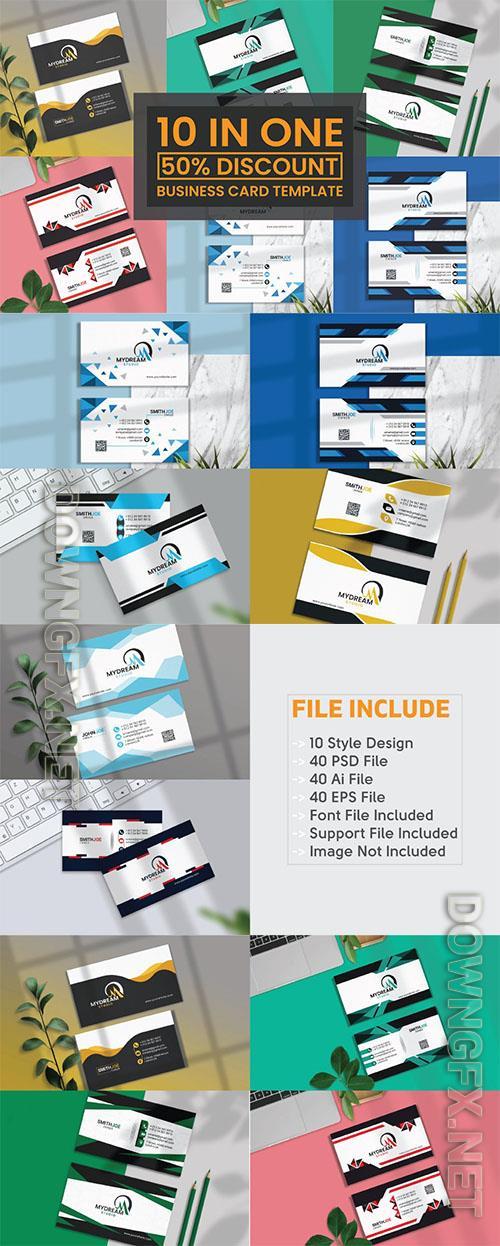 Creative Business Card Design Bundle Vol8 Corporate Identity