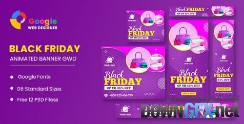 CodeCanyon - Black Friday Sale HTML5 Banner Ads GWD v1.0 - 34150873