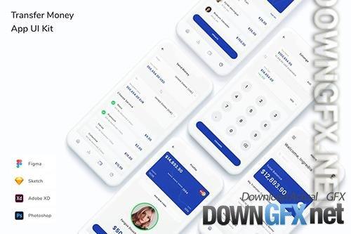 Transfer Money App UI Kit