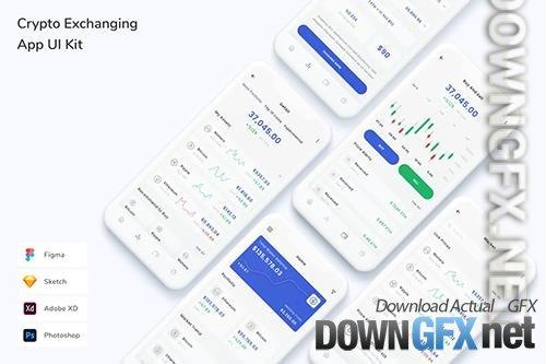 Crypto Exchanging App UI Kit