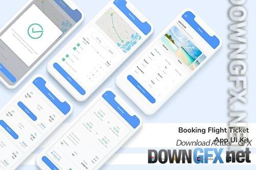 Booking Flight Ticket App UI Kit