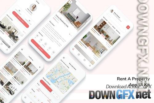 Rent A Property App UI Kit