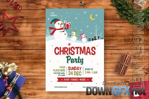 Christmas Party Flyer 3