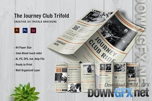 Journey Club Ride Trifold Brochure