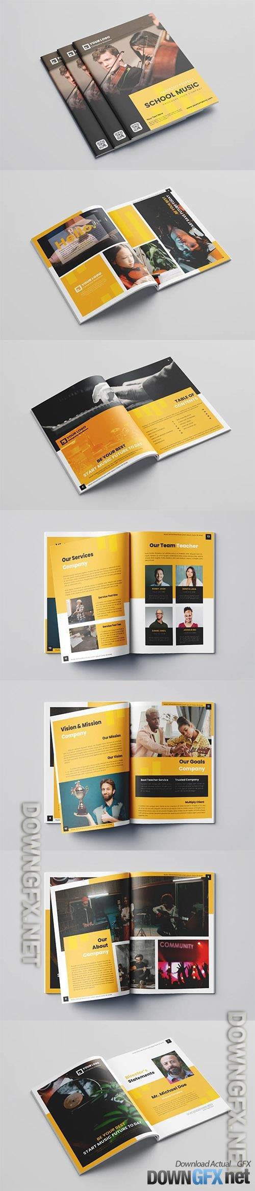 Music School Brochure Vol.1