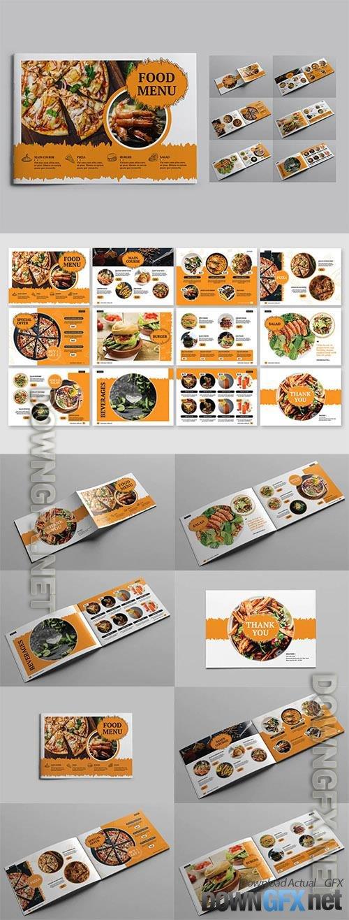 Food Menu Landscape