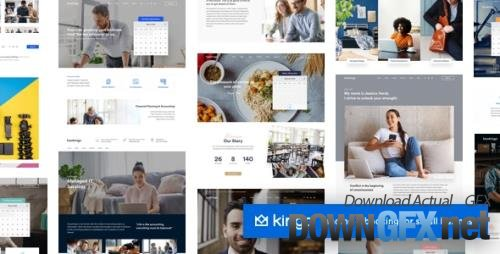 ThemeForest - Kingo v2.4.1 - Booking WordPress for Small Business - 23385668 - NULLED