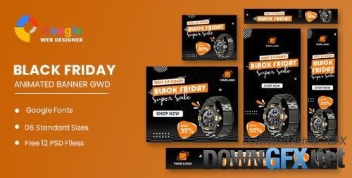CodeCanyon - Product Sale Black Friday Banner Set Template v1.0 - 34193019