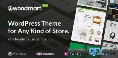 ThemeForest - WoodMart v6.1.5 - Responsive WooCommerce WordPress Theme - 20264492 - NULLED