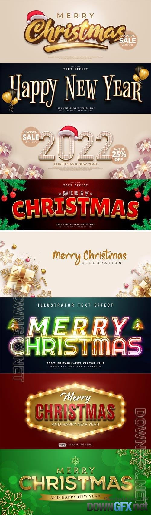 Merry christmas banner with golden christmas element decoration premium vector