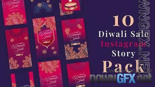 Diwali Sale Instagram Stories 34138196
