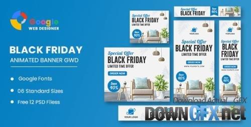 CodeCanyon - Furniture HTML5 Banner Ads GWD - 34237117