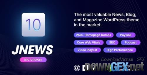 ThemeForest - JNews v9.0.2 - WordPress Newspaper Magazine Blog AMP Theme - 20566392 - NULLED