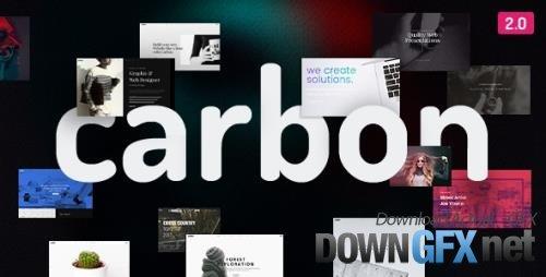 ThemeForest - Carbon v2.9 - Clean Minimal Multipurpose WordPress Theme - 18437252