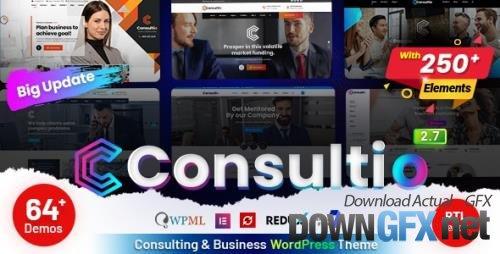 ThemeForest - Consultio v2.7.0 - Consulting Corporate - 25376496