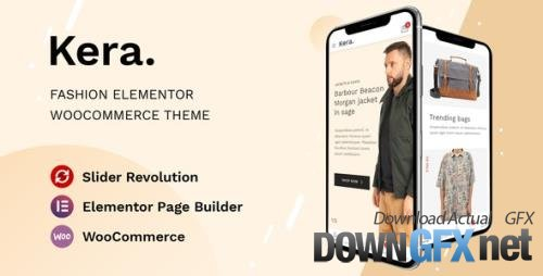 ThemeForest - Kera v1.1.11 - Fashion Elementor WooCommerce Theme - 26857050
